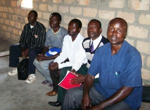 Pastor Titus Shampande and rural Solwezi HUB