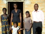 Kasama DL Benjamin Chabali and family