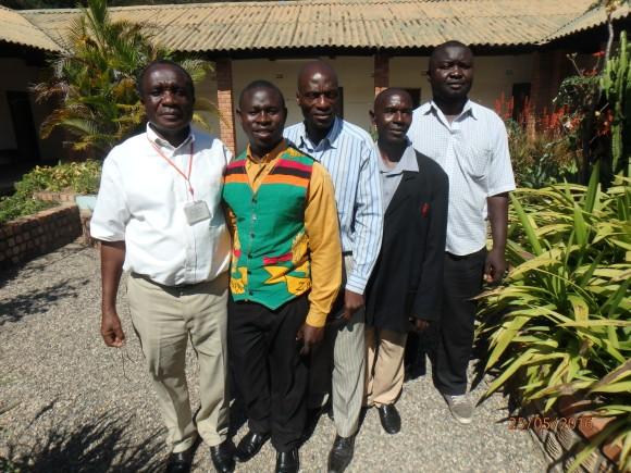Pastor Sakala and District Leaders