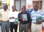 HBMZ Matthew Daka, Livingstone Pastors Banda, Muyimbango and Soko, HBM President Johan Gous