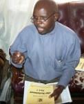 Pastor Adrian teaching Calvary Academics