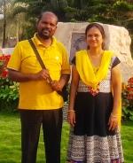 Prabhukiran and Swarna